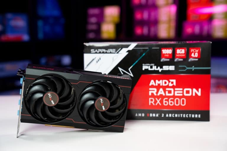Sapphire Pulse RX 6600 with Box
