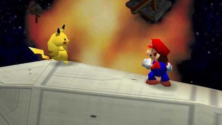 Super Smash Bros Nintendo 64 Nintendo Switch Online
