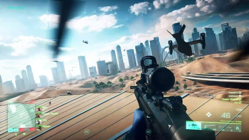 battlefield 2042 chopper ride
