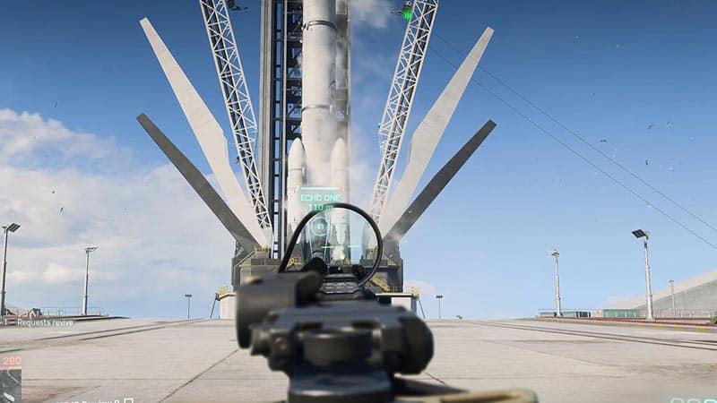 how to destroy rocket battlefield 2042