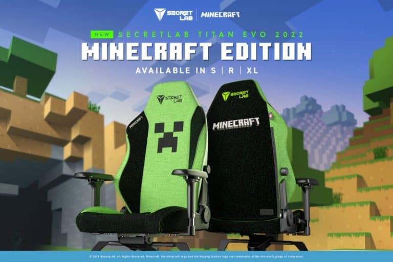 secretlab minecraft chair