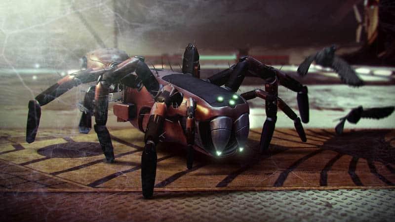 skitterscare spider sparrow destiny 2